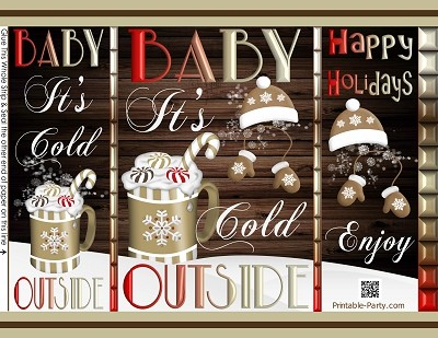 printable-chip-gift-bags-Christmas-its-cold-outside-brown-white-hot-cocoa