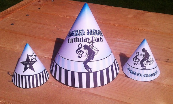 michael-jackson-printable-party-supplies-hats-aqua