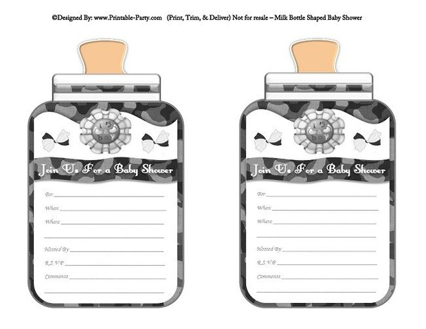 printable-grey-camouflage-babies-bottle-shaped-baby-shower-invitations