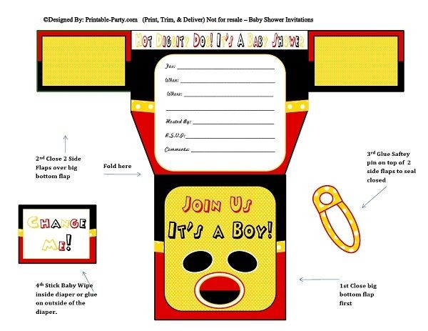 red-black-yellow-mouse-diaper-boy-baby-shower-invitation