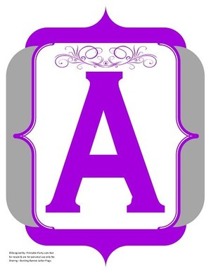fancy-purple-grey-printable-banners-letters-numbers