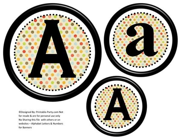 6-inch-black-colorful-polka-dots-circle-printable-banner-letters-numbers-a-z-0-9