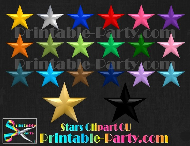 Star Clipart Commercial Use Royalty Free