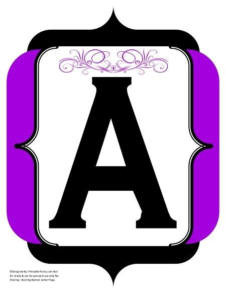 fancy-black-purple-printable-banners-letters-numbers