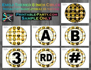 Emoji-Printable-Banner-Letters-A-Z-Numbers