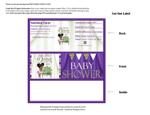 printable-candy-bar-wrapper-babyshower-girl-olive-green-purple