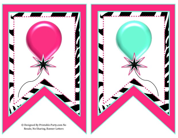 5-inch-swallowtail-pink-aqua-green-zebra-printable-banner-letters-a-z-0-9