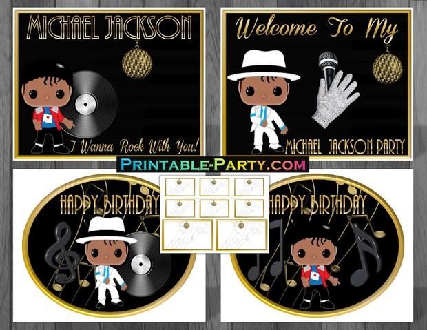 MICHAEL-JACKSON-THEMED-BIRTHDAY-SUPPLIES-GOLD
