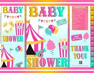 printable-chip-bags-circus-CARNIVAL-Baby-shower-PINK-YELLOW-AQUA