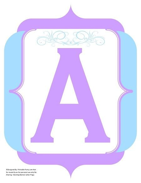 fancy-lavender-light-blue-printable-banners-letters-numbers