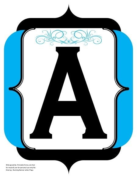fancy-black-blue-printable-banners-letters-numbers