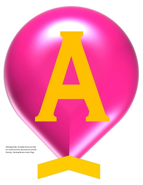 LARGE-PINK-YELLOW-BALLOON-PRINTABLE-BANNER-LETTERS-A-Z-0-9