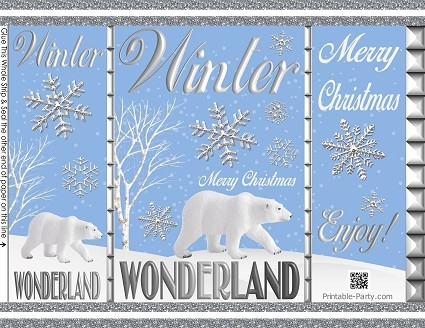 printable-chip-favor-bags-Christmas-winter-wonderland-silver-white-blue