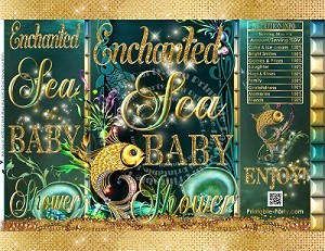 printable-chip-bags-enchanted-under-sea-gold-baby-shower