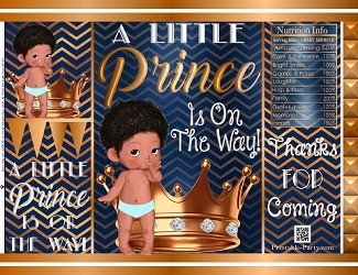 printable-bags-prince-dark-navy-blue-copper-african-baby-shower-1