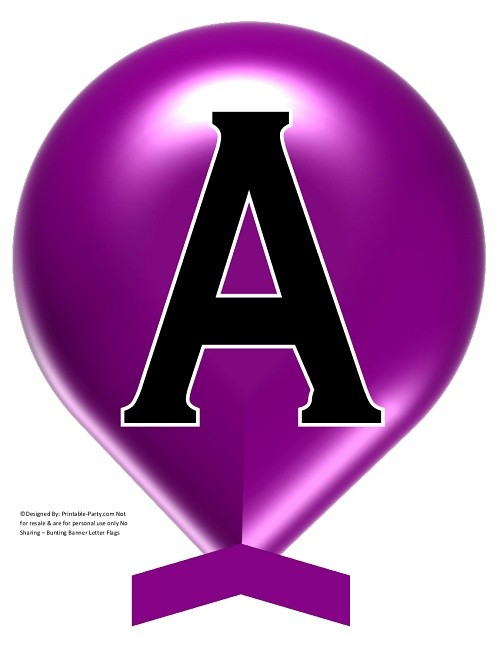 LARGE-PLUM-PURPLE-BALLOON-PRINTABLE-BANNER-LETTERS-A-Z-0-9