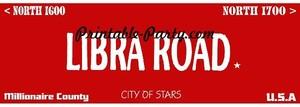Libra Zodiac Street Signage JPEG Image