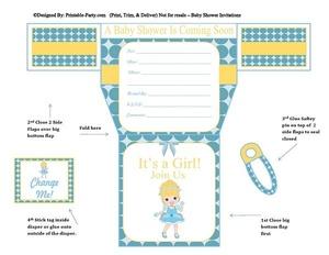 blue-polka-dots-cinderella-diaper-girl-printable-baby-shower-invitation