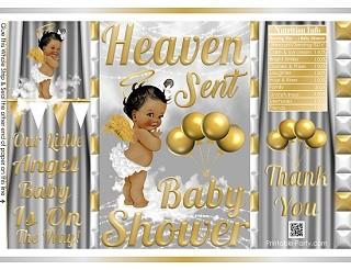 printable-potato-chip-bags-gold-heaven-sent-Angel-GIRL-babyshower4
