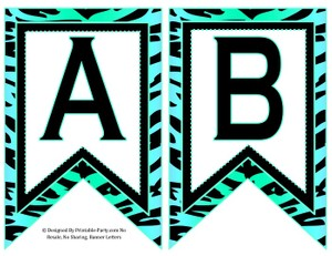 5-inch-swallowtail-aqua-light-green-zebra-printable-banner-letters-a-z-0-9