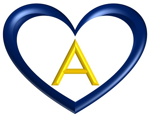 heart-shaped-printable-alphabet-letter-dark-blue-yellow