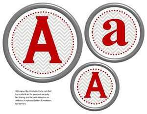 6-inch-dark-red-grey-chevron-circle-printable-banner-letters-numbers-a-z-0-9