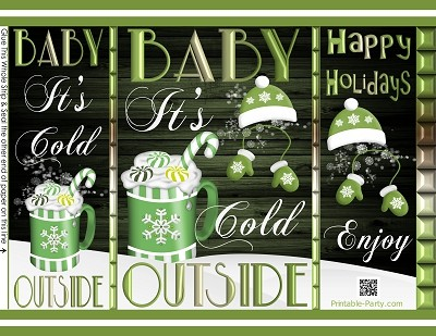 printable-chip-gift-bags-Christmas-its-cold-outside-green-white-hot-cocoa
