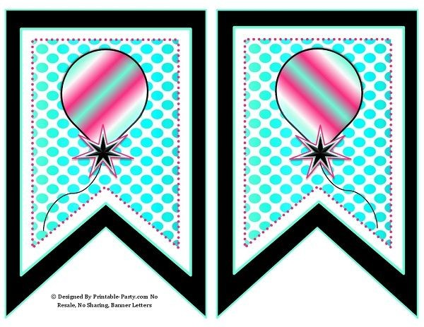 5-inch-swallowtaill-black-pink-aqua-dots-printable-banner-letters-a-z-0-9