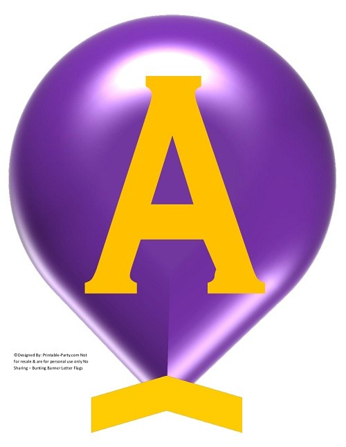 LARGE-PURPLE-YELLOW-BALLOON-PRINTABLE-BANNER-LETTERS-A-Z-0-9