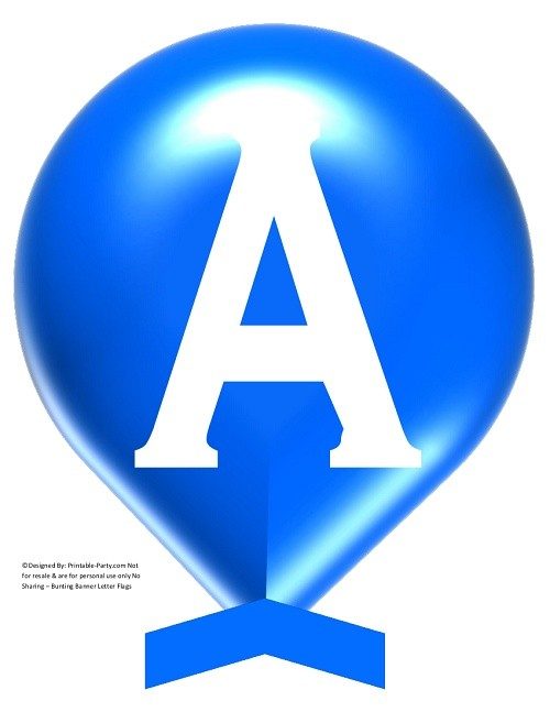 LARGE-TRUE-BLUE-WHITE-BALLOON-PRINTABLE-BANNER-LETTERS-A-Z-0-9