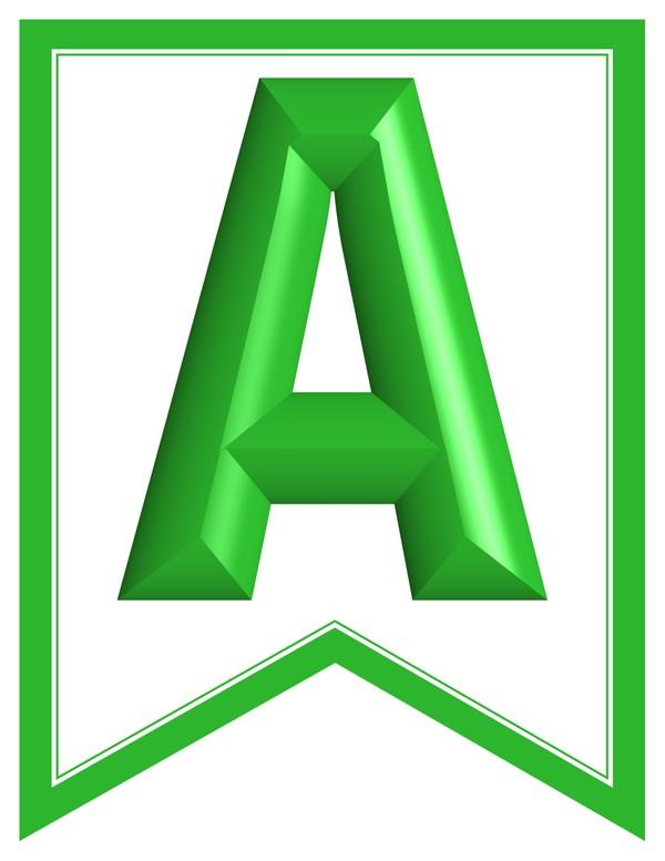 SWALLOWTAIL-PRINTABLE-ALPHABET-BANNER-LETTERS-green-white