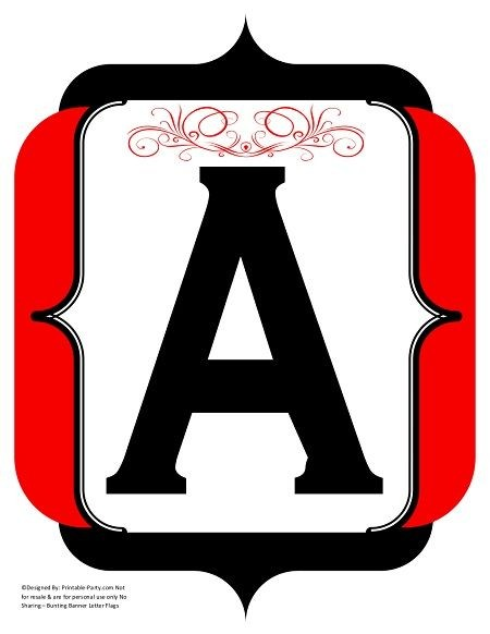 fancy-black-red-printable-banner-letters-numbers