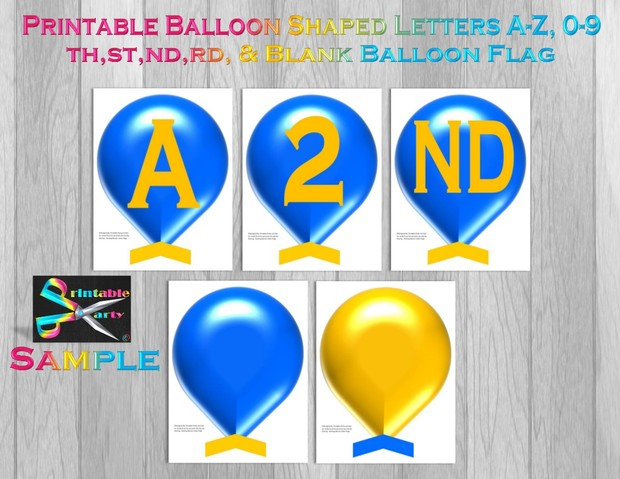 LARGE-MINT-GREEN-BALLOON-PRINTABLE-BANNER-LETTERS-A-Z-0-9