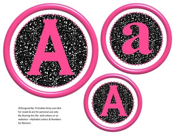 6-inch-hot-pink-black-glitter-circle-printable-banner-letters-numbers-a-z-0-9