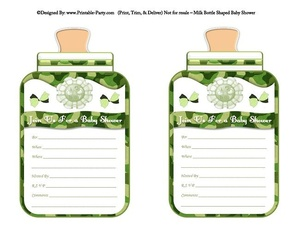 printable-green-camouflage-babies-bottle-shaped-baby-shower-invitations