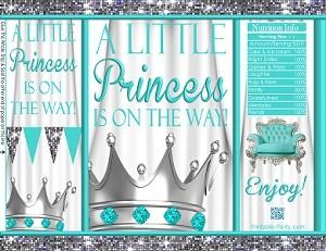 printablechipfavorbagsroyalteal-white-crown-princessbabyshower