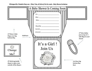 grey-white-stripes-flower-diaper-girl-printable-baby-shower-invitation