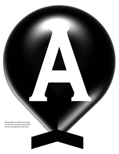 LARGE-BLACK-WHITE-BALLOON-PRINTABLE-BANNER-LETTERS-A-Z-0-9