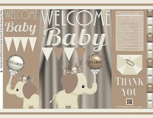 printable-potato-chip-bags-baby-shower-prince-boy-elephant-TAN