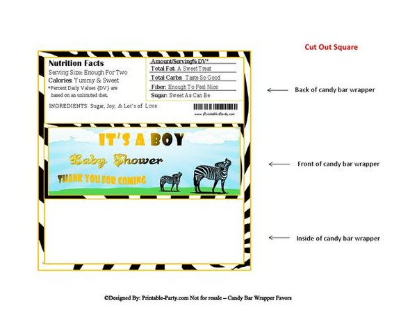 black-yellow-zebra-boy-baby-shower-candy-bar-wrapper