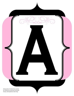 fancy-black-light-pink-printable-banners-letters-numbers