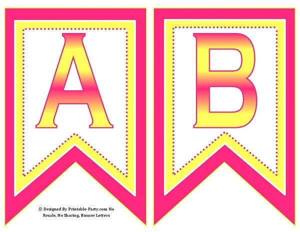 picture relating to Printable Letter for Banners named 5-inch-swallowtail-red-yellow-printable-banner-letters-a-z-0-9