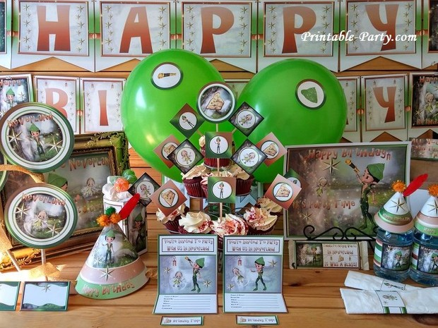 Peter-Pan-Neveland-Printable-Party-Supplies-Pack