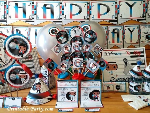 Michael-Jackson-Rock-With-You-Printable-Supplies