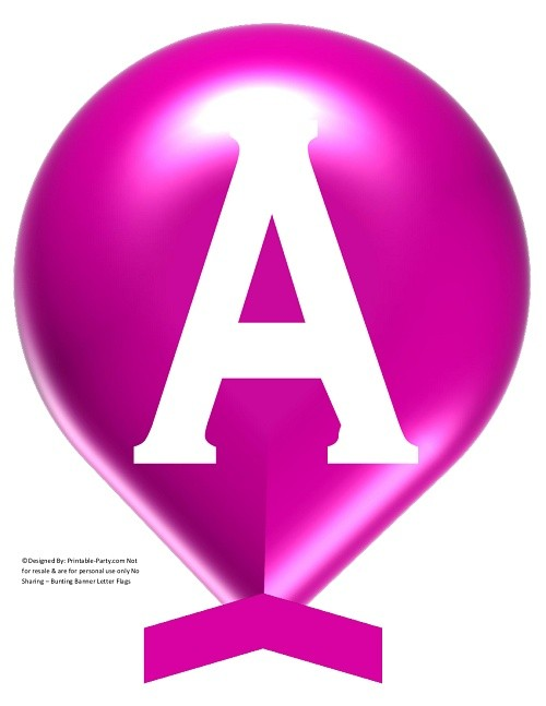 LARGE-VIOLET-WHITE-BALLOON-PRINTABLE-BANNER-LETTERS-A-Z-0-9