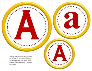 6-inch-dark-red-yellow-circle-printable-banner-letters-numbers-a-z-0-9