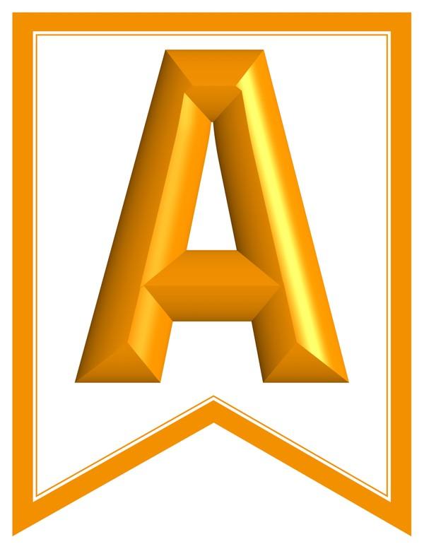 SWALLOWTAIL-PRINTABLE-ALPHABET-BANNER-LETTERS-orange-white
