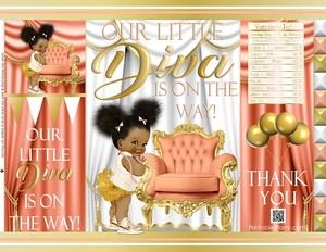 printable-chip-bags-royal-princess-peachgold-african-baby-shower2