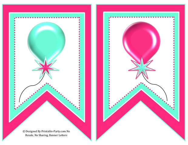 5-inch-swallowtail-pink-aqua-green-printable-banner-letters-a-z-0-9