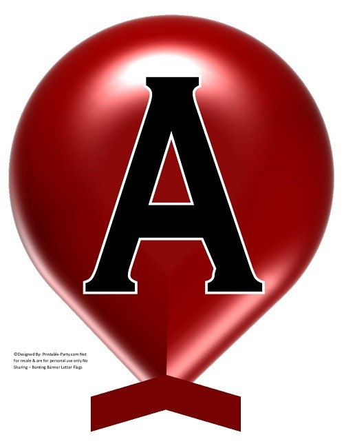 LARGE-DARK-RED-BALLOON-PRINTABLE-BANNER-LETTERS-A-Z-0-9